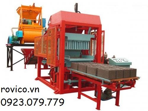 Quy trình hoạt động của máy ép gạch không nung