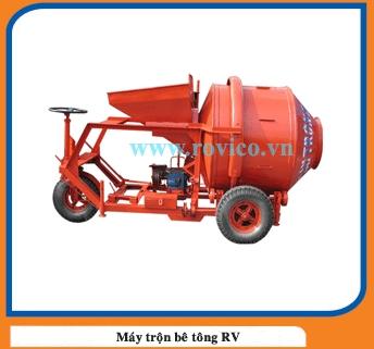 Sản xuất máy trộn bê tông tự hành 350l