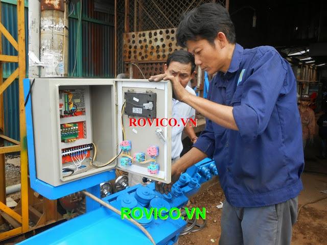 Cách dùng máy uốn đai sắt tự động