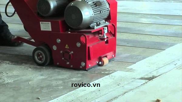 Nhu cầu dùng máy băm nền bê tông